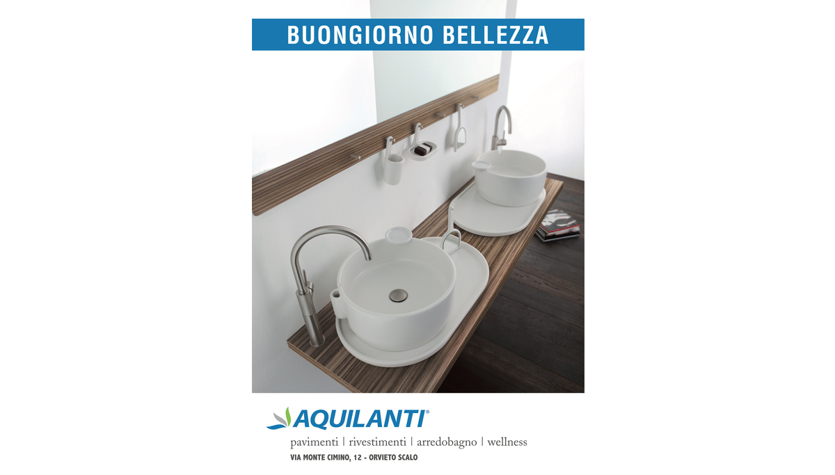 Grafica pubblicitaria per cliente Aquilanti Toscana