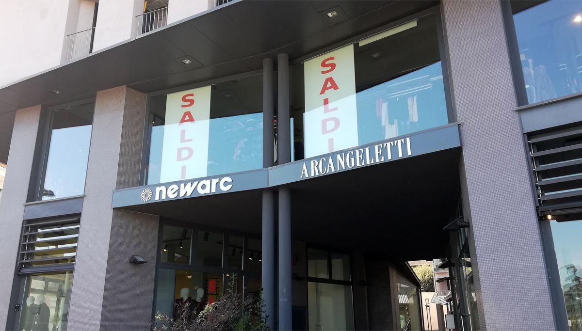 campagna pubblicitaria saldi in Umbria