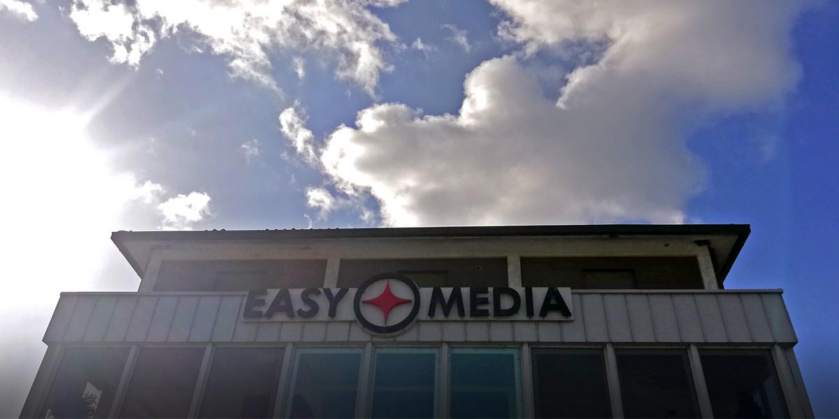 insegna luminosa retro illuminata Easy Media (Umbria) Terni