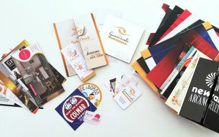 ideazione e grafica pubblicitaria e stampa depliant e volantini per clienti in Umbria, Lazio e Toscana